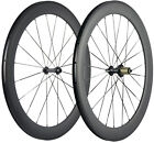 60mm Wheels Road Bike Clincher Racing Wheelset Light Weight 700C Bicycle Cycling