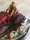 David Brown Tractor Figure Country Artist Room For Two