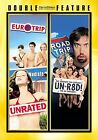 NEW DOUBLE MOVIE EUROTRIP  ROAD TRIP DVD 2007 FACTORY SEALED Free Shipping