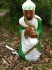Nativity Wise Man Green Outfit 28 General Foam Light Up Blow Mold Decoration