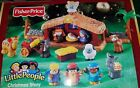 Fisher Price Little People Deluxe Christmas Story Nativity Set