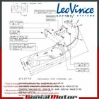 GENERIC IDEO 50  LEOVINCE EXHAUST FULL SYSTEM SITO STEEL 0718