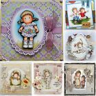 DIY Crafts Silicone Rubber Scrapbooking Lovely Girl Transparent Stamp
