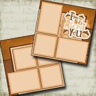 NUTS ABOUT YOU 2 Premade Scrapbook Pages EZ Layout 2973