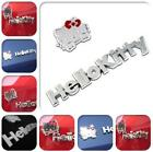 Cute 3D Hello Kitty Metal Car Sticker Emblem Decal Accessories Motorcycle Badge
