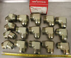 15 EATON AEROQUIP 225 LARGE HYDRAULIC MALE 2G ELBOW  45 FITTING LOT NEW
