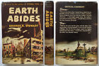 Earth Abides George R Stewart 1949 First Edition DJ sci fi isherwood NICE
