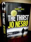 Signed 1st Edition The Thirst Jo Nesbo Mystery Harry Hole Crime First Printing