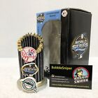 NEW YORK YANKEES FLORIDA MARLINS 2003 World Series Replica Trophy Paperweight