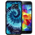 PERSONALIZED RUBBER CASE FOR SAMSUNG S9 S8 S7 S6 S5 PLUS BLUE TIE DYE HIPPIE