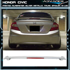 12-15 Civic OEM Painted Color Alabaster Silver Metallic # NH700M Trunk Spoiler