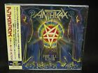 ANTHRAX For All Kings + 1 JAPAN CD Motor Sister Storm Troopers of Death Pearl