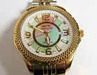 Invicta Swiss 3660 Men's Wrist watch Nuoro Swiss Mother Ppearl Dial Gold Plated