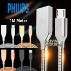 Heavy Duty Metal Micro USB FAST Charging Data Sync Cable For Philips Xenium V526