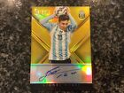 Lionel Messi 2015-16 Panini Select Soccer Legend Auto Gold 1 5 World Cup AB
