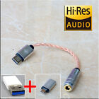 Type C to 35mm Headphone Jack Cable Adapter USB Decoder Sound Card for Phone