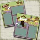 I Woof You 2 Premade Scrapbook Pages EZ Layout 3116