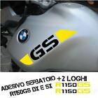TANK GRAFIK STICKERS BMW 1150 GS ADVENTURE 25 JAHRESTAG BLACK YELLOW