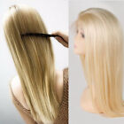 Remy Peruvian Human Hair Wig Lace Front Pre Plucked Women Baby Hair Wigs Blonde