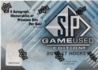 2016-17 Upper Deck SP Game Used Hockey Factory Sealed Hobby Box