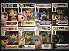 Funko Pop Lot of 8 - Star Wars Marvel Call of Duty Street Fighter etc.EXCLUSIVES