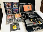 Turbografx CD System Bundle Tested Working Complete TG-16 Rare Used Lots of Game