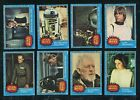 1977 Topps Star Wars Serie 1 Complete Set Plus Stickers MINT Vending