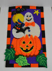 Completed Halloween Wall Hanging Decoration Large Ghost Bat Pumpkin Cat Moon