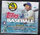 2015 Topps Series 1 Baseball Jumbo Box 10ct Factory Sealed Hobby autographs