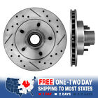 Front Drilled And Slotted Brake Rotors For Chevy S 10 GMC Jimmy Sonoma 2WD