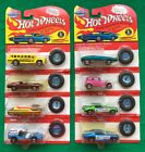 8 Hot Wheels Redlines SCool Bus Mongoose Snake Custom Mustang lot pink FREE SH