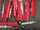 "LOT OF 9 Proto J6125F TW DIAL 1/2"" Drive 50-250 FT-LB Torque Wrench"