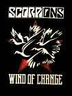 SCORPIONS cd lgo WIND OF CHANGE  Official SHIRT XL New crazy world