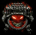 DISTURBED cd lgo CHROME SMILEY Official SHIRT SMALL new