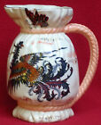 AUTHENTIC ANTIQUE FRENCH KG LUNEVILLE MAJOLICA PURS PITCHER 1880