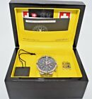 CX SWISS MILITARY AIR FORCE 1 STEEL CHRONOGRAPH WATCH