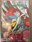Rick And Morty 1 First Print SIGNED BY DAN HARMON