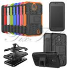 For Nokia 1 New Genuine Hard Back Black Stand Dual Shock Proof Phone Case Cover