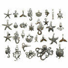 20pcs/lot Marine Life Prophecy Emperor Octopus Charm For DIY Bag Jewelry Making