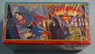 Sealed 1996 Skybox Panini Superman Collectible Stickers Box-100 Pks w NM Album