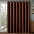 Rose Home Fashion RHF Thermal Insulated Blackout Patio door Curtain Panel, Slid