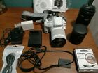 Canon EOS Rebel SL1 EOS 100D 180MP Digital SLR Camera White Bundle