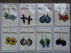 16Handmade quilling pairs of earrings gifts best wishes birthday