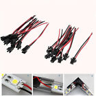 10Pairs 2PIN Male Female Connector Wire Cable For 3528 5050 LED Strip Light US