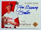 Jim Bunning 2005 Ultimate Signature Immortal Inscriptions Autograph 99 Phillies