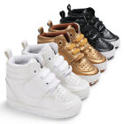 0 18M Toddler Shoes Baby Boy Girl PU Ankle Boots Crib Shoes Anti slip Sneaker US