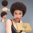 AFRO WIG - 100% Human Hair Afro Wig - Natural Kinky / Curly Cap Wig - Hera Remy