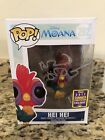 Alan Tudyk Signed Hei Hei Funko Pop Summer Convention Exclusive Pop #292 Moana