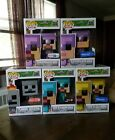 Funko Pop Minecraft exclusives lot #2. Walmart, Target, TRU exclusives!! Look!