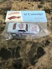 Hot Wheels 67 Camaro blue Newsletter 2007 Dearborn Nationals mint in package